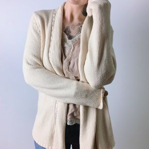 {anthro} ANGEL OF THE NORTH Annabelle Cardigan